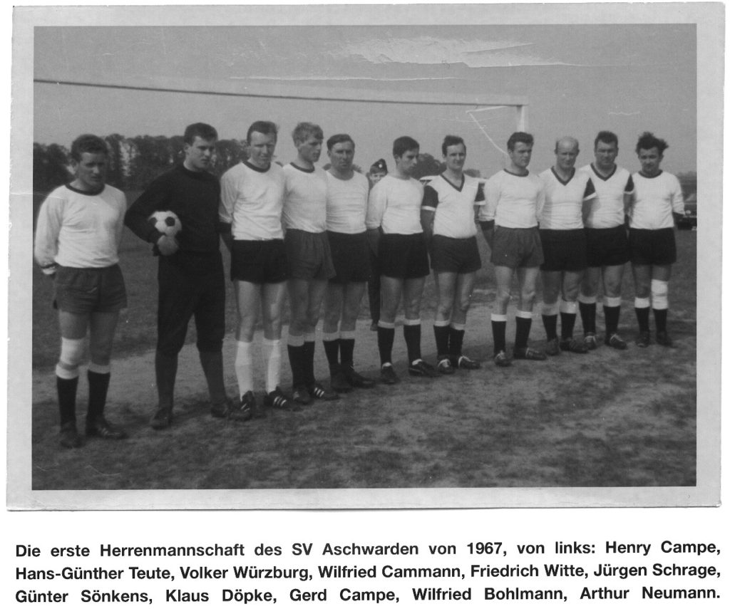 SV Aschwarden 1967