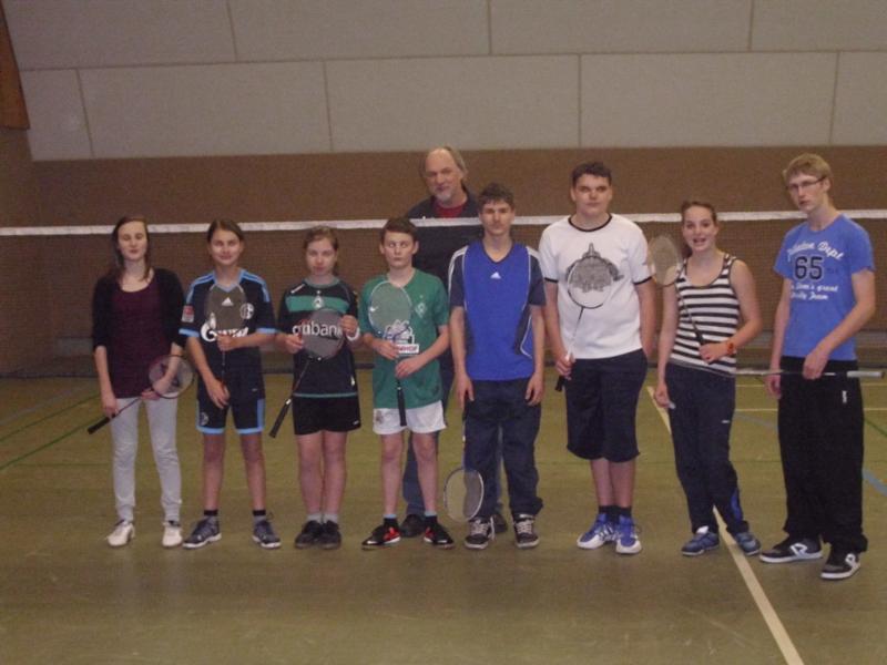 Badminton Aschwarden Jugend